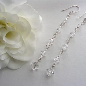 Sterling Silver and Swarovski Cryst..